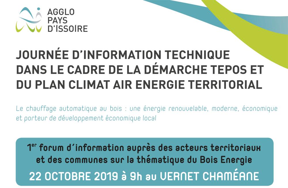 BETA Energie au 1er forum d'information sur le bois
